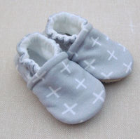 Organic Cotton Knit Slippers - 3 to 6 months