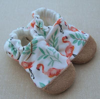 Organic Cotton Knit Slippers - 6 to 12 months