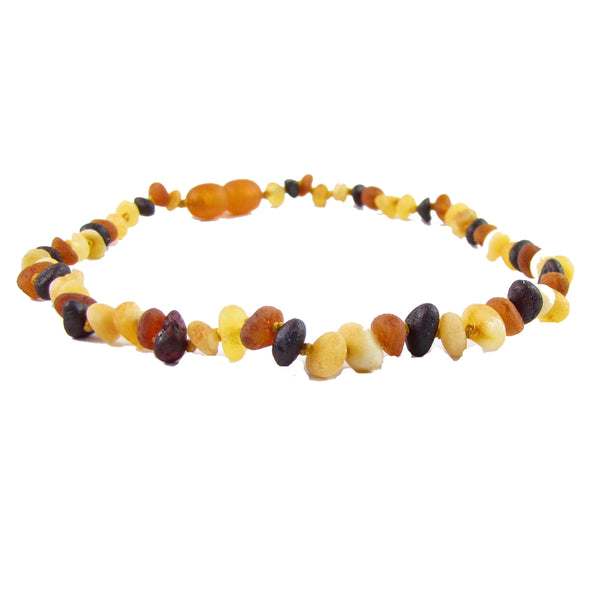 Baltic Amber Necklace: 10-11 in.