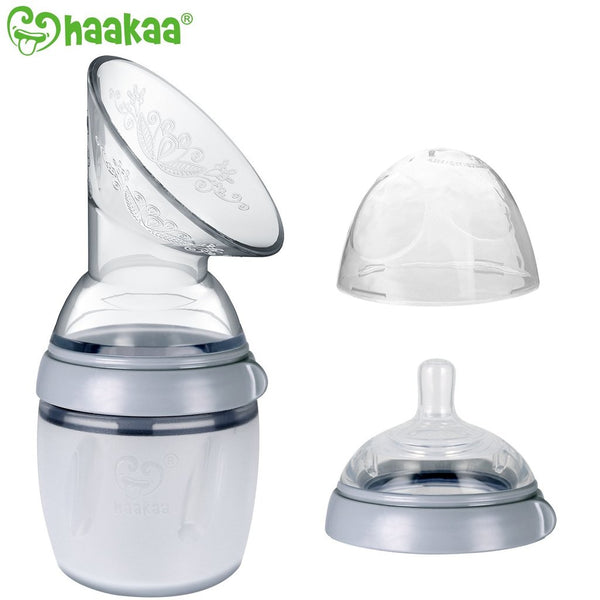 Silicone Breast Pump and Bottle Set
