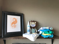 Animal Family Nursery Art