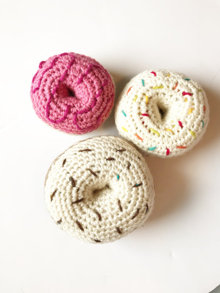 Donut Knit Toy