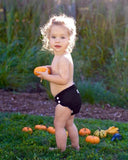 blonde haired toddler girl wearing solid black applecheeks diaper cover kansas city baby co