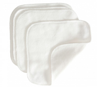 grovia white square terry cloth cloth wipes kansas city baby co