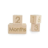Wooden Age Blocks Photo Prop
