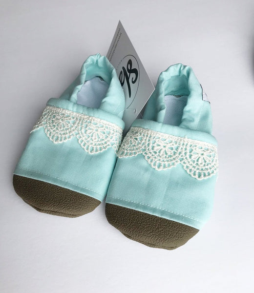 Sarah Beth Co. Everyday Moccasins: Size T10 (Multiple Colors)