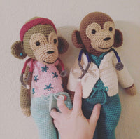 Doctor & Nurse Monkey Huge Lovey