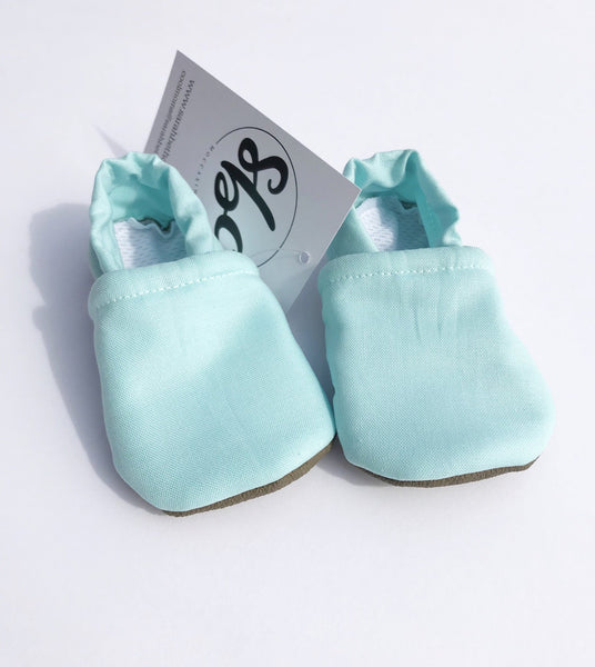 Sarah Beth Co. Everyday Moccasins: Size 0-3 months (Multiple Colors)