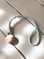 Tshirt Yarn Pacifier/Teether Clip