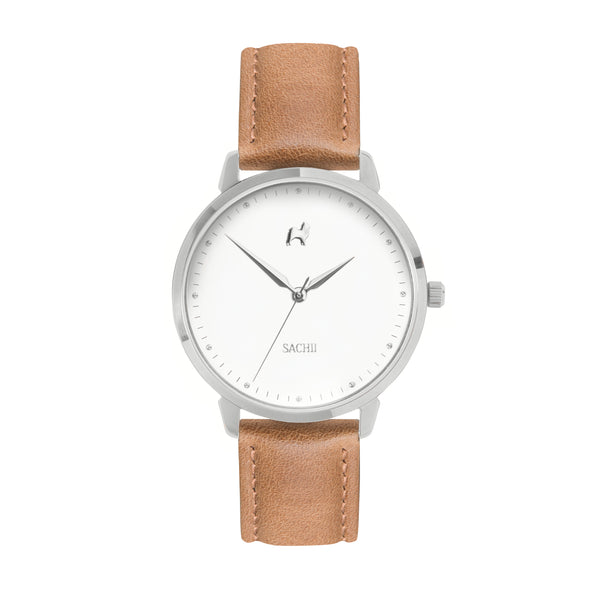 Sachii Watches | Toasted Caramel Timepiece | Classic Pastel | Watch
