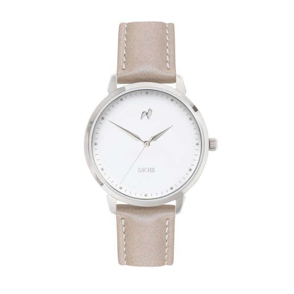 Sachii Watches | Hazelnut Latte Timepiece | Classic Pastel | Watch