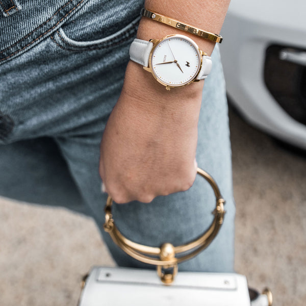Sachii Watches | Spilt Milk Timepiece | Classic Pastel | Watch