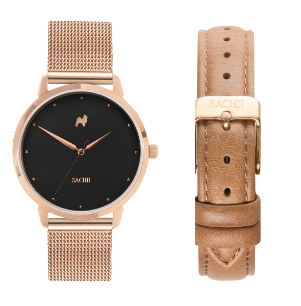 Lucid Dreams + Tan Leather Strap