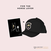For the 'Horse Lover' - Gift Set A5 + Hat