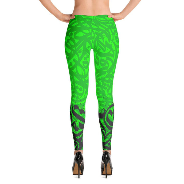 Leggings andalusi green - Shobbek