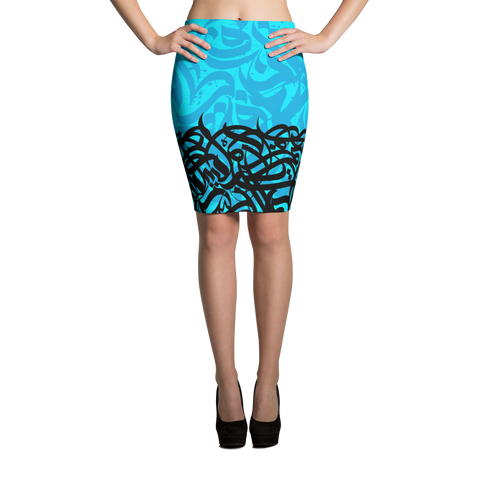 Pencil Skirt andalusi - Shobbek