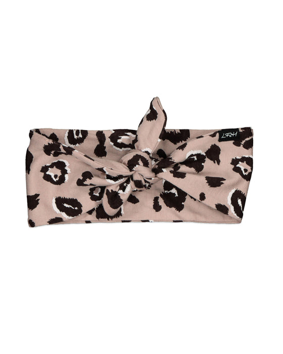 Little Flock of Horrors Darcy Headband - Blush Cheetah