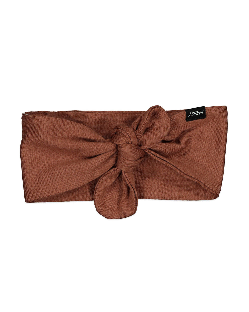 Little Flock of Horrors Darcy Headband - Russet