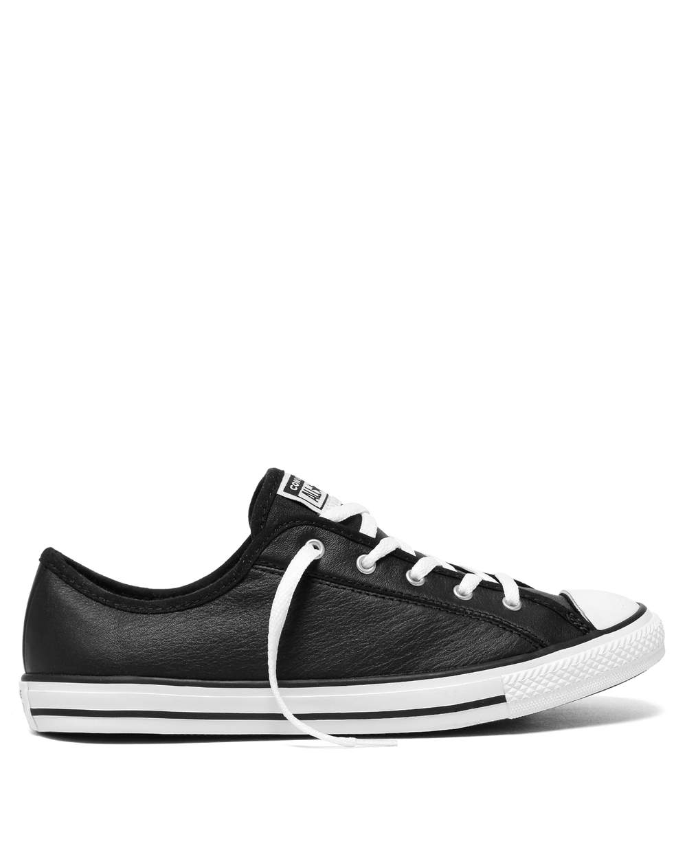 Converse Chuck Taylor Dainty Leather Low Top 2.0 - Black