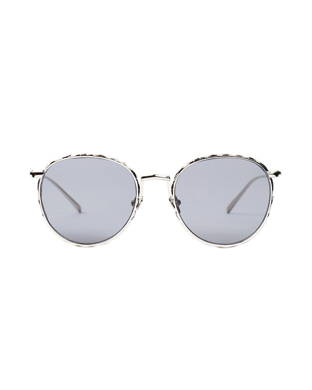 Valley Eyewear Corpus - Gloss Silver is a premium handcrafted sunglass.