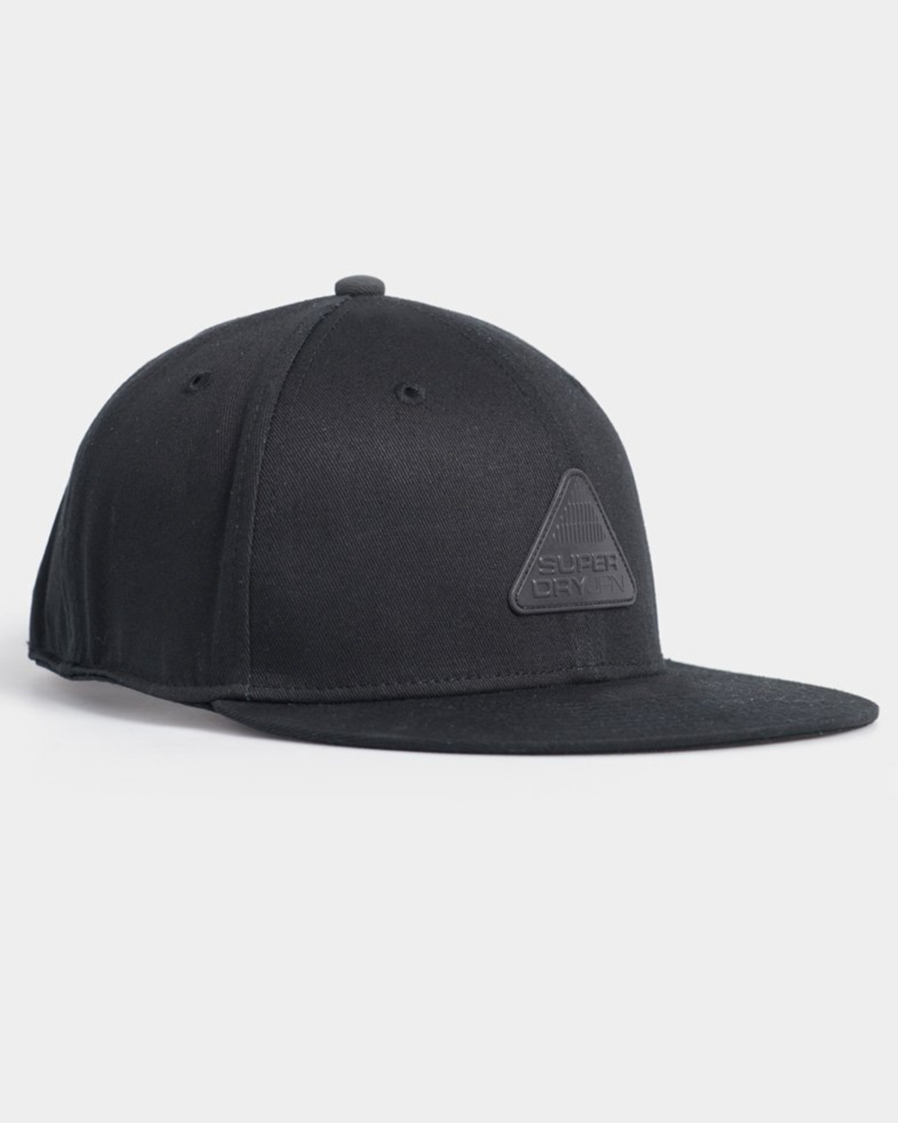 Superdry 6 Panel Twill Cap - Black