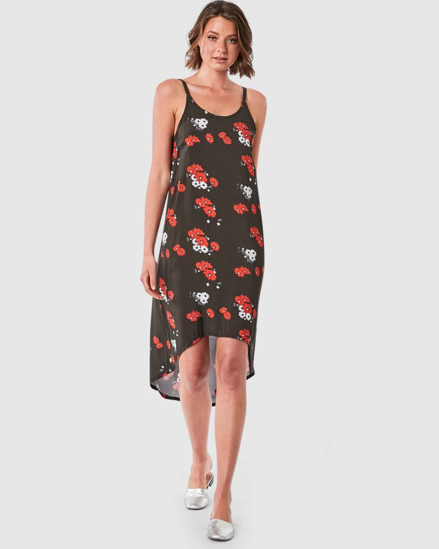 Elwood Daisy Slip Dress - Daisy Print
