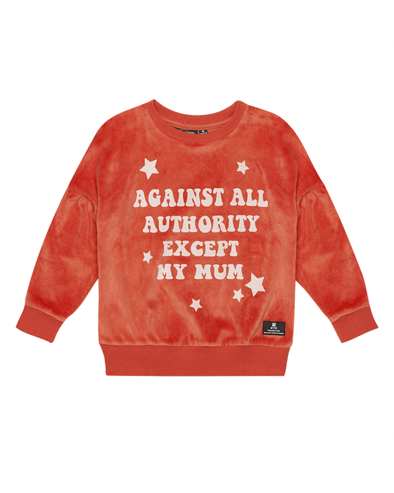 Rock Your Kid Against All Authority Sweatshirt