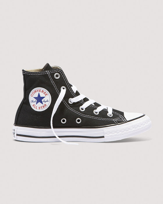 Converse Chuck Taylor All Star Classic Youth Hi Top - Black