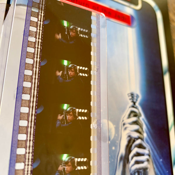DEATH STAR II + SCREEN-USED PROPS + 35mm FILM + LOCATION ELEMENTS