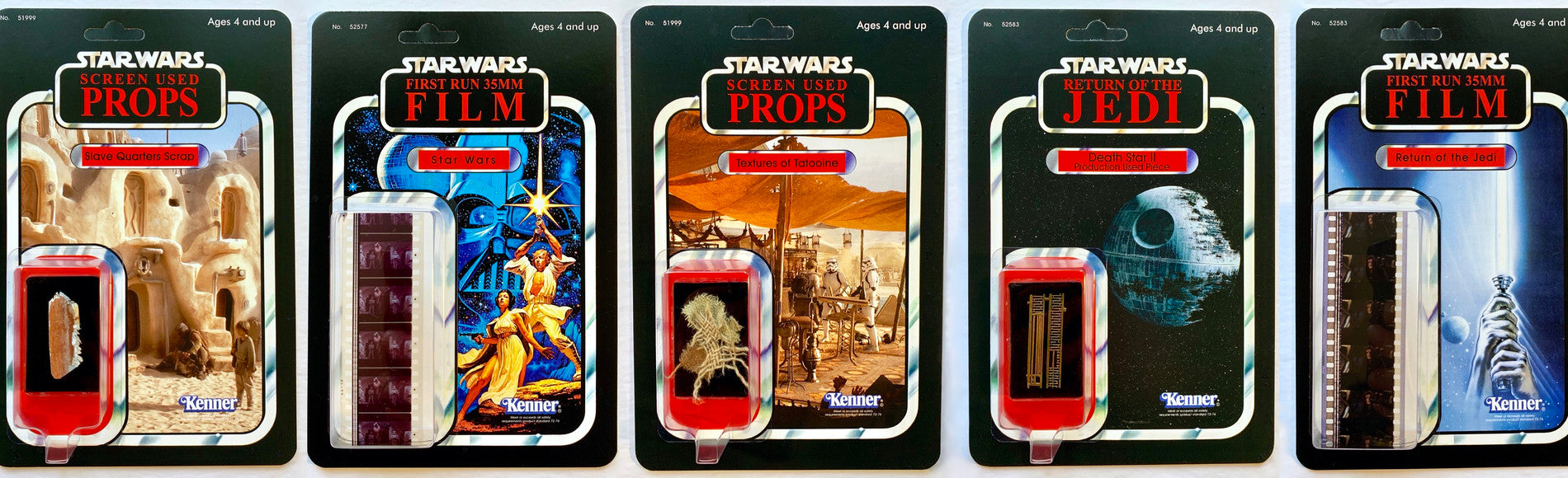 Star Wars Custom Vintage Cardbacks