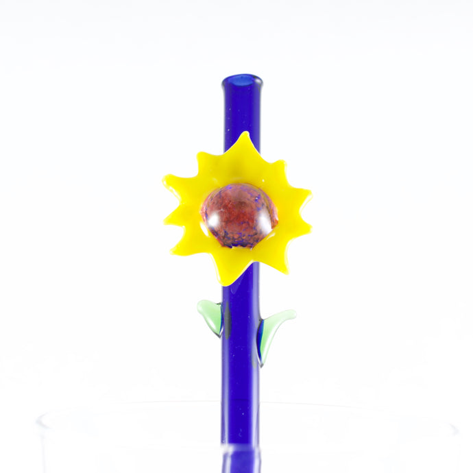 Sunflower Glass Straw, #761