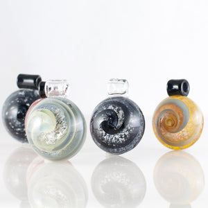 Memorial Glass Circle Pendant