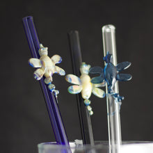 Dragonfly Glass Straw