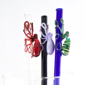 Octopus Glass Straw