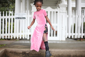 Child Slit Dress