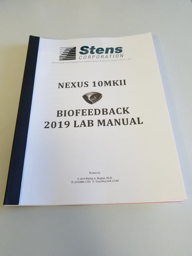 Biofeedback Lab Manual for use with the NeXus 10 & BioTrace+ Software