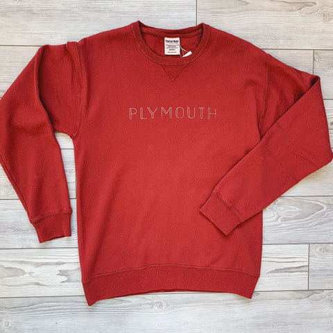 Plymouth Crewneck - Cayenne Red