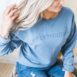 Plymouth Crewneck - Saltwater Blue