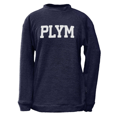PLYM Woolly Crew Sweatshirt  - Navy