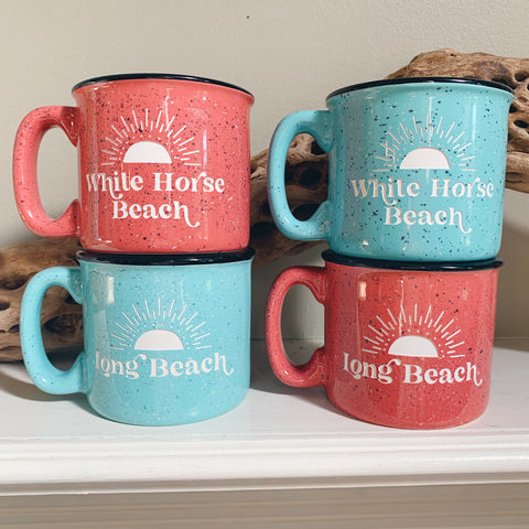 Beach Coffee Mugs - Locally Yours