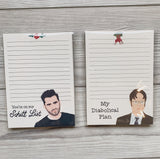 Pop Culture Notepads