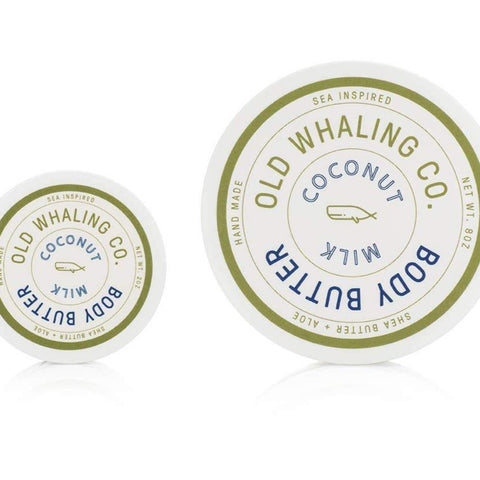 Old Whaling Company Body Butter - Coconut Milk