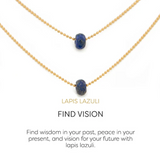 Gemstone Necklace - Lenny & Eva
