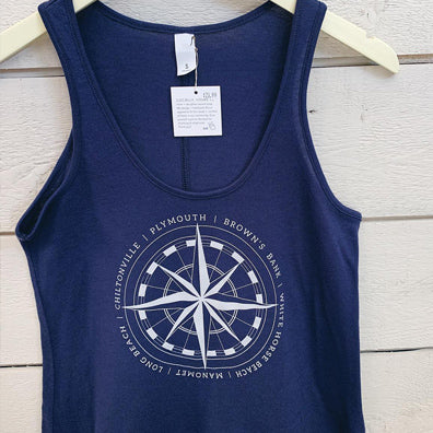 Womens Townie Tank - Navy