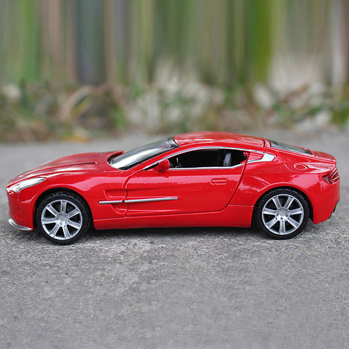 Aston Martin Collectible Electronic Toy Car With Light Up Headlights
