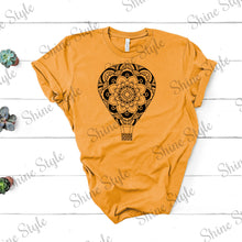 """Mandala Balloon"" Custom Tee - 3413C"