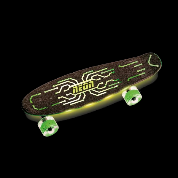 Neon Hype Skateboard - Green