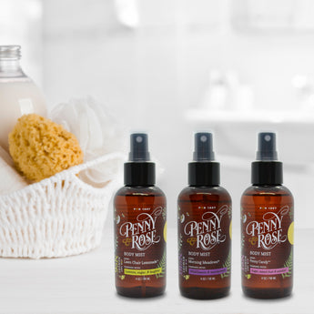 Penny & Rose Body Mist | Set of 3