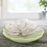 Ceramic Flower Diffuser | Limited Edition Pastel Green Plate