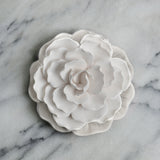 Ceramic Flower Diffuser | White Plate
